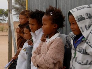 Children at Andriesvale | Khomani San