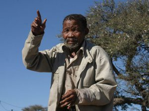 Dawid Kruiper Tradtional Leader of the Khomani San | Khomain San