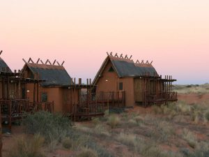 !Xuas Lodge at sunset | Khomani San