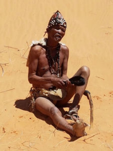 ‡Khomani san's new traditional leader